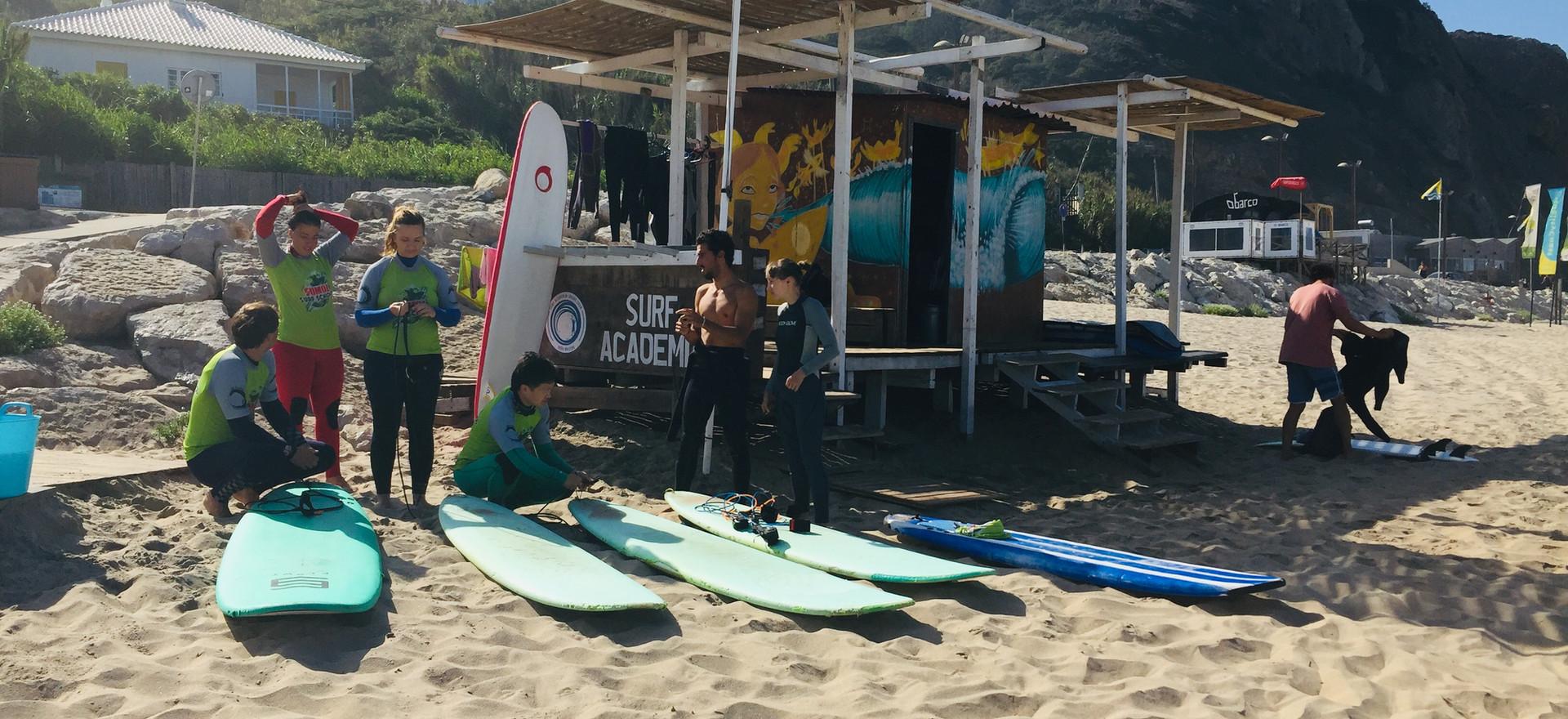 Surf school Praia Grande Oasis Sintra Surf