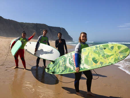 8 Days Enthusiast's Week Surf and Yoga Retreat in Sintra, Portugal