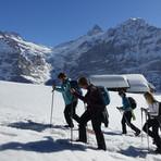 Schneeschuhspass in Grindelwald
