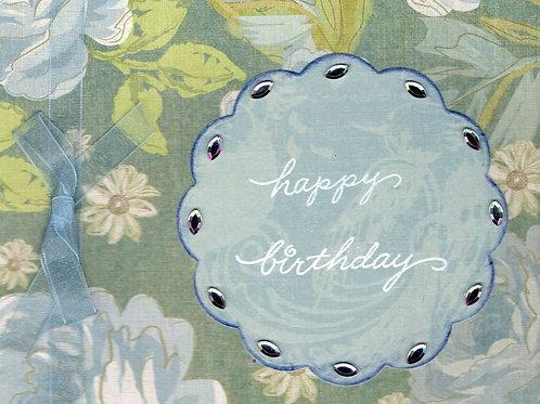 Blue Birthday Baubles