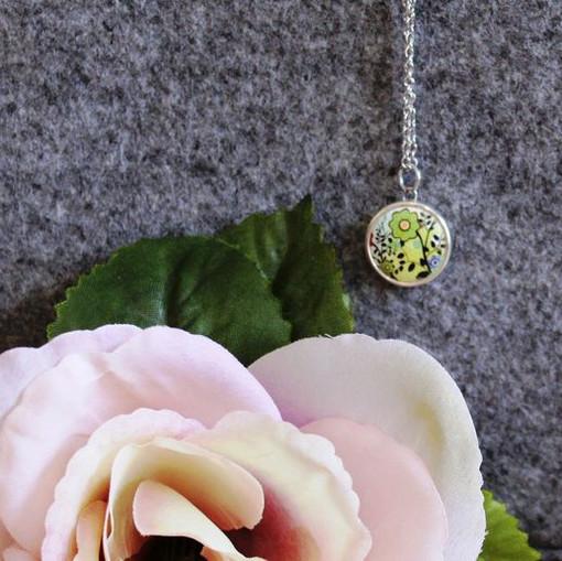 Bohemian Blooms - 22 inch chain