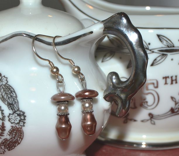 Olde World Charm - upcycled - silver tone hooks