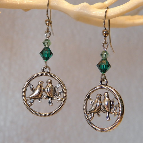 Green Stone Lovebirds