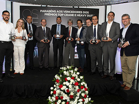 PRÊMIOS TOP CRANE E HEAVY DUTY'2019
