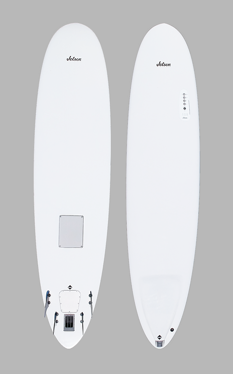 8' Wahoo Li-ion Electric Powered Funboard Quad Fin (Full System)