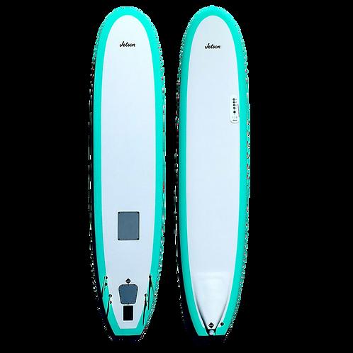 9' Grouper Li-ion Electric Powered Longboard Quad Fin (Full System)