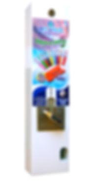 Máquina vending cepillos dentales