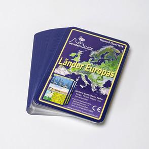 Länder Europas Quartett