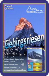 Berge Quartett Titelblatt