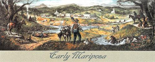 Earl Rogers - Early Mariposa Mural Post Card
