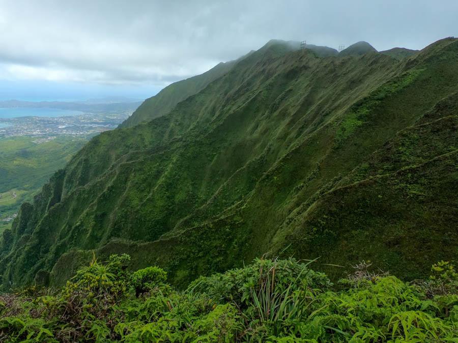 Windward ko'olau mountains