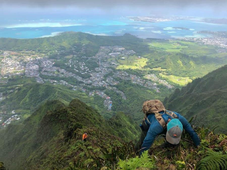 hunagro explorer climbing ahuimanu uka