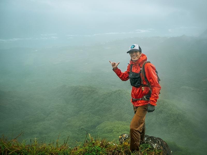 hunger explorer on top of Waiahila'hila