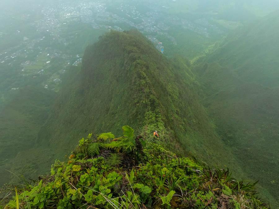 narrow ahuimanu ridge