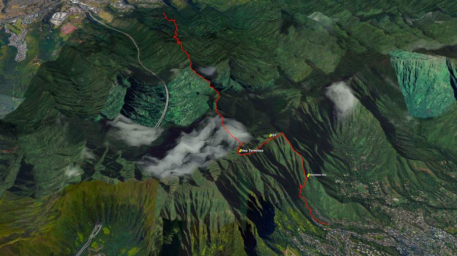 google earth of ahuimanu nuka