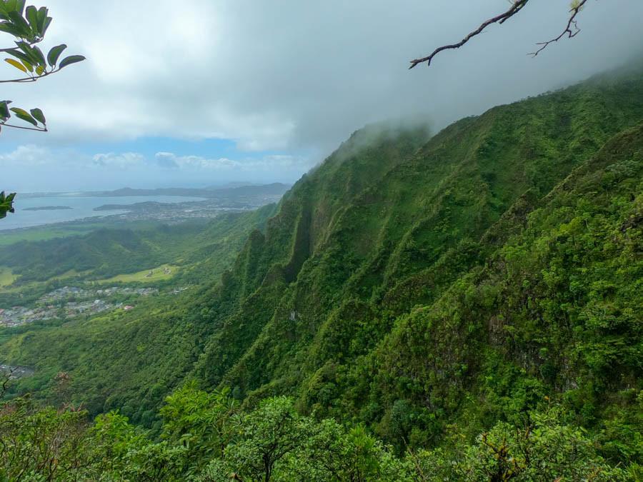 koolau mountain ridges