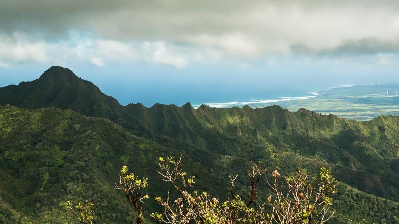 Kamaohanui peak and ridge