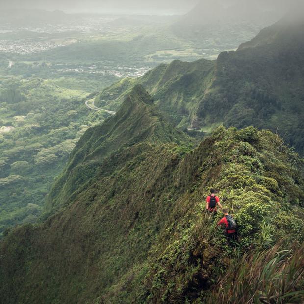 Ko'olau ridge line