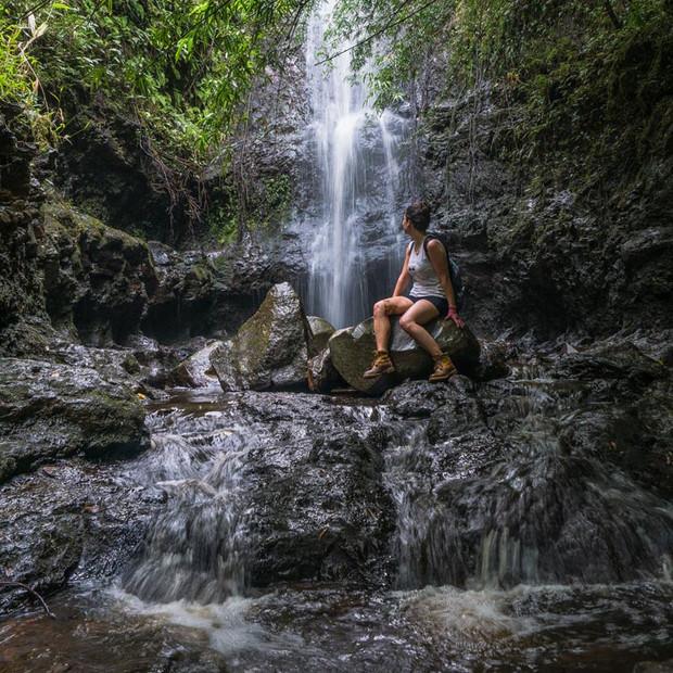 Quiet waterfall