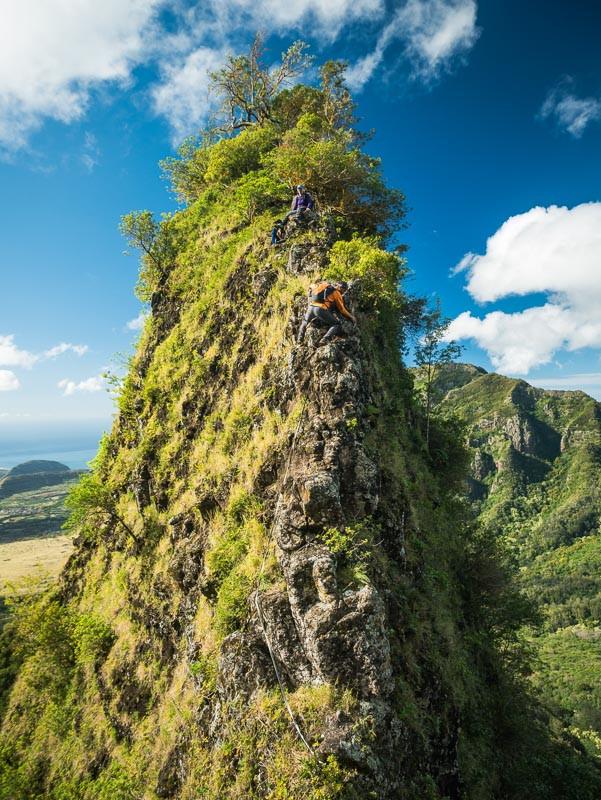 bolohead down climb