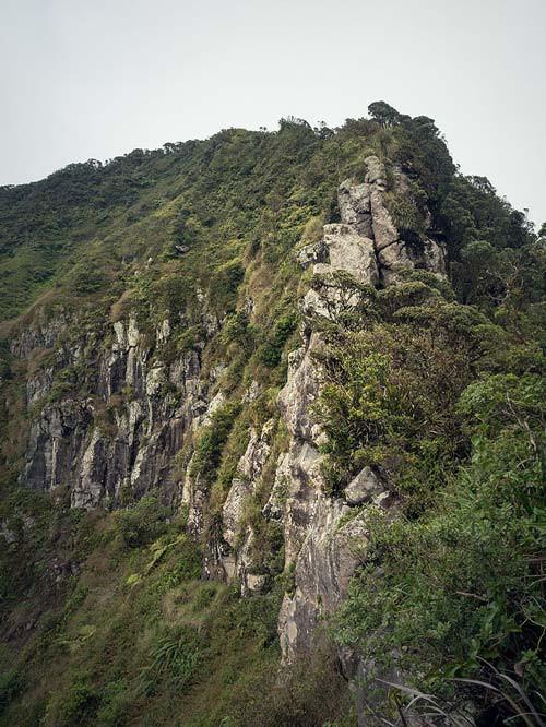 Rock formation on Ka'ala