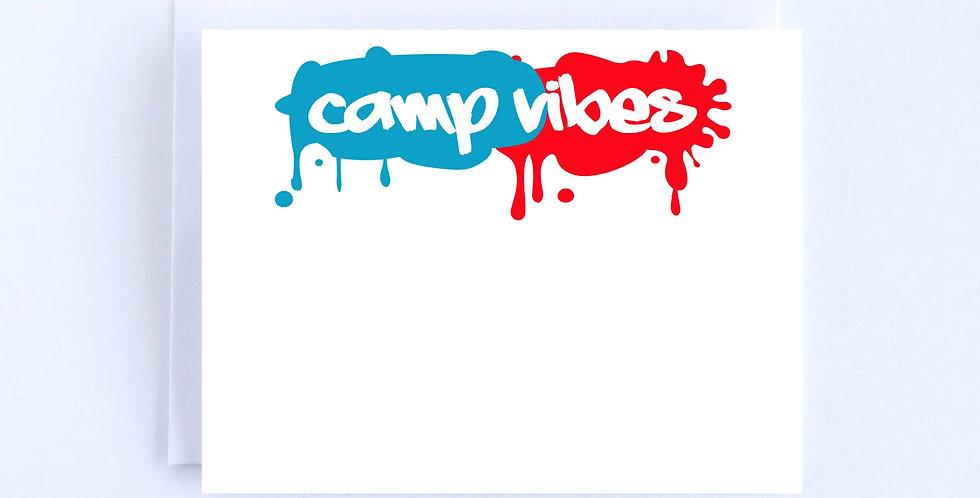 Camp Vibes Splatter - Boxed Set of 10