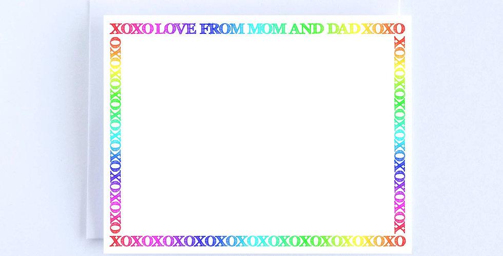 XO Rainbow - Boxed Set of 10