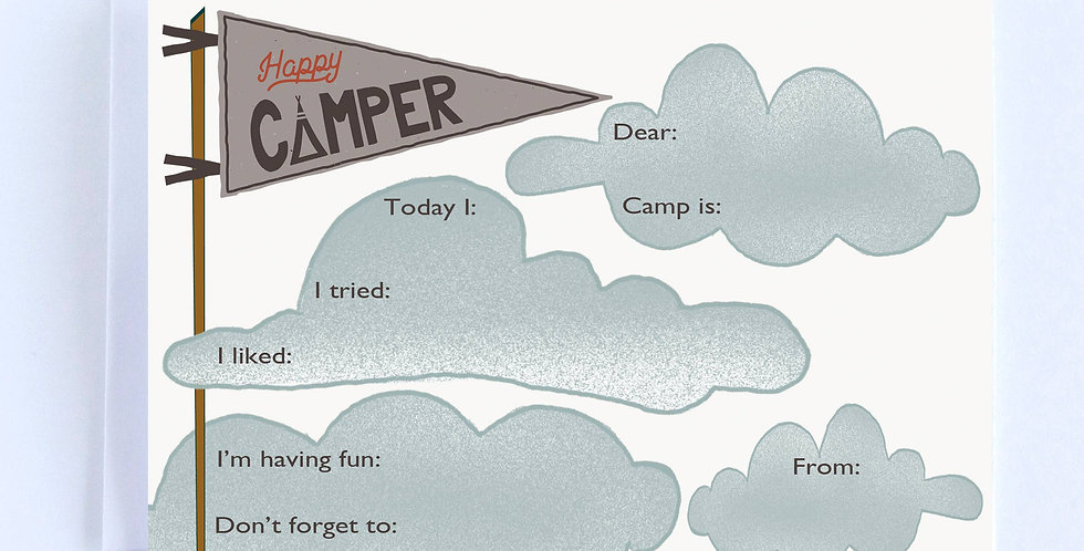 Camp Flag Fill In - Boxed Set of 10