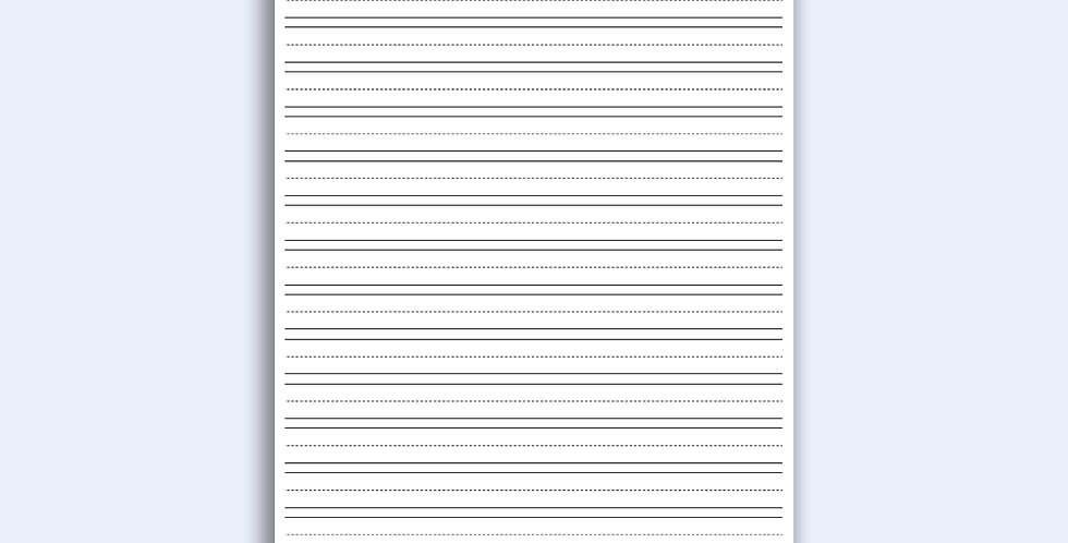 Elementary Fill In - Loose Notepad Sheets