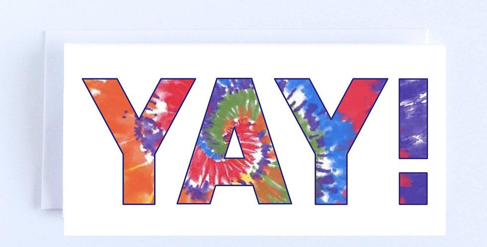 Tie Dye Yay - Boxed Set of 10