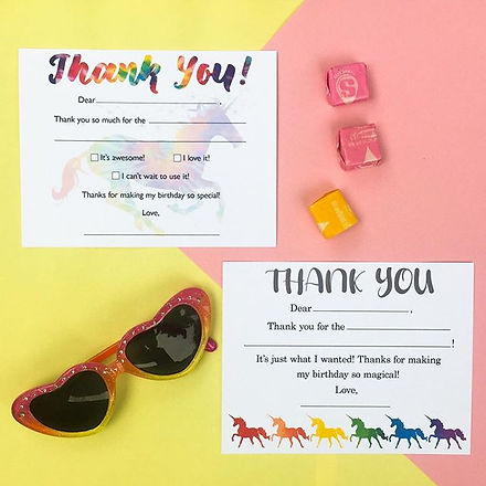 FILL-IN-THE-BLANK THANK YOU NOTES — maki