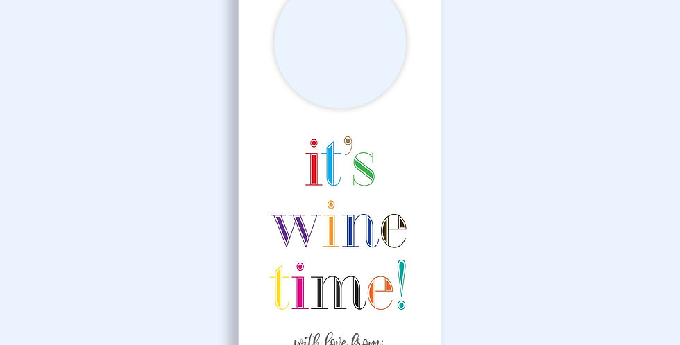 It's Wine Time - Set of 12