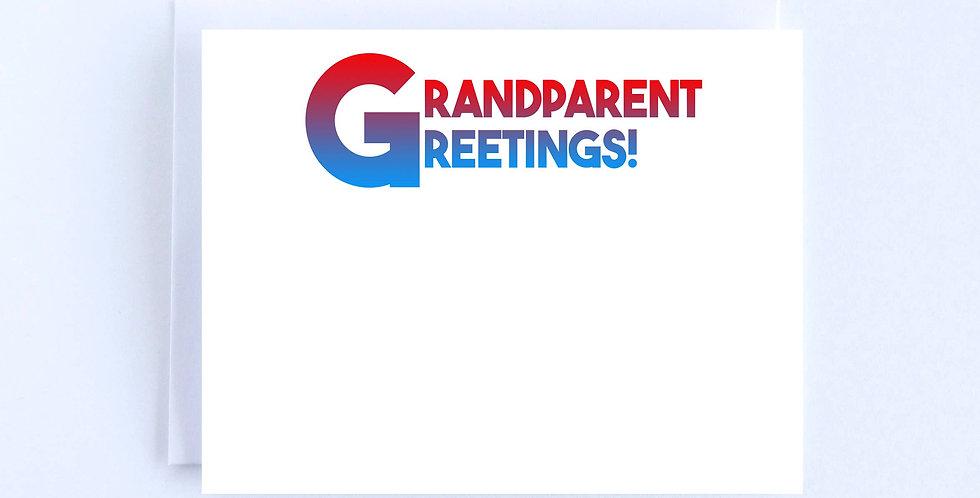 Grandparent Greetings - Boxed Set of 10