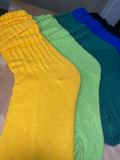 Slouchy Home Socks