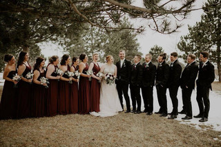 Saginaw Michigan Winter Wedding