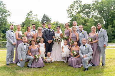 Plymouth Michigan Wedding | Summer | Mauve Color Pallette Inspiration