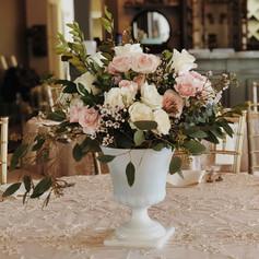 Romantic Urn Centerpiece