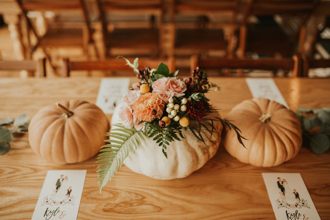 September Michigan Wedding Florals