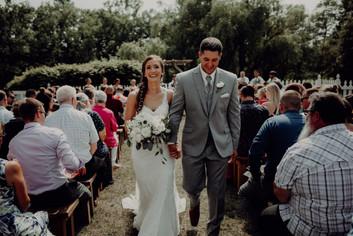 Michigan Anemone Garden Royal Wedding Bouquet