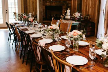 Romantic Wedding Table Design