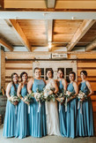 Wedding in Holly, Michigan | Blue Wedding Colors