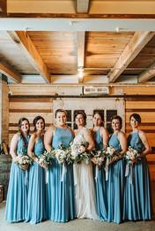 Wedding in Holly, Michigan   Blue Wedding Colors