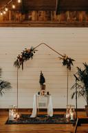 Copper Wedding Arch Arbor