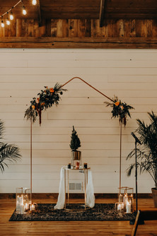 Copper Wedding Arch Arbor