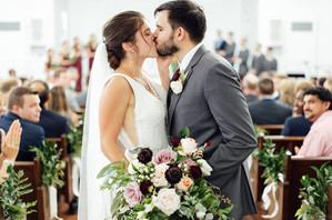 Michigan Chapel Wedding at The Holly Vault
