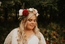 Wild Boho Flower Crown