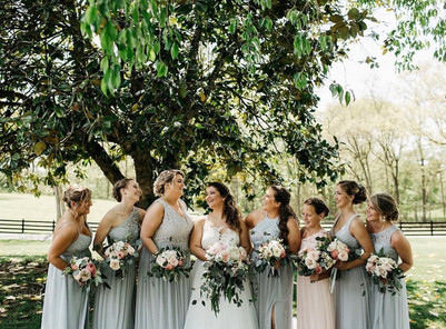 Wedding Flowers Summer Waterford Blush Eucalyptus Greenery Weddings
