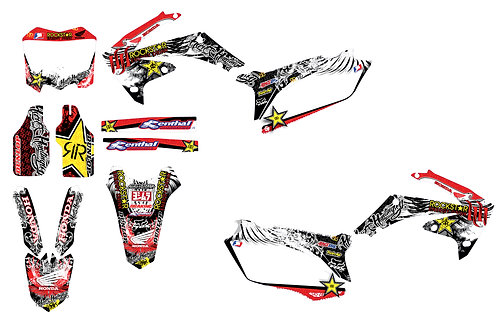 CRF450 09-12 CRF250 10-13 %100 scale