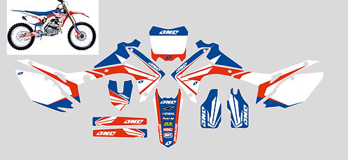 CRF450 13-16 CRF250 14-17 %100 scale