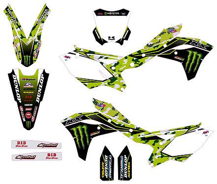 KX 250F 2017 2019 2020 %100 scale